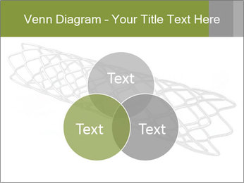 Close-up image of stent PowerPoint Template - Slide 33