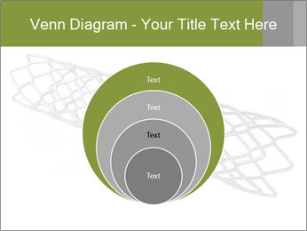 Close-up image of stent PowerPoint Template - Slide 34
