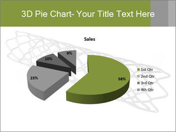Close-up image of stent PowerPoint Template - Slide 35