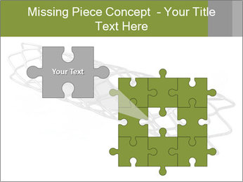 Close-up image of stent PowerPoint Template - Slide 45