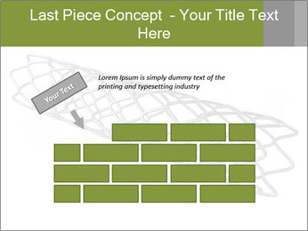 Close-up image of stent PowerPoint Template - Slide 46
