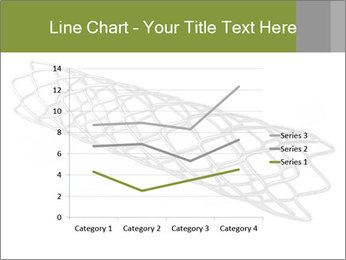 Close-up image of stent PowerPoint Template - Slide 54