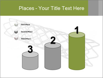 Close-up image of stent PowerPoint Template - Slide 65