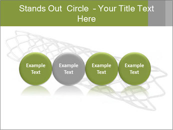 Close-up image of stent PowerPoint Template - Slide 76