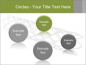 Close-up image of stent PowerPoint Template - Slide 77