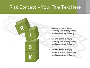 Close-up image of stent PowerPoint Template - Slide 81