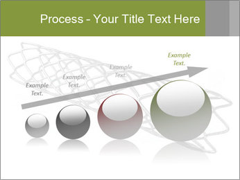 Close-up image of stent PowerPoint Template - Slide 87