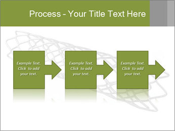 Close-up image of stent PowerPoint Template - Slide 88