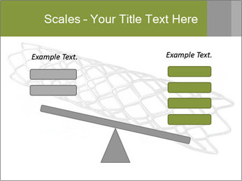 Close-up image of stent PowerPoint Template - Slide 89