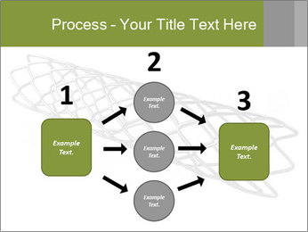 Close-up image of stent PowerPoint Template - Slide 92