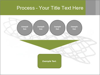 Close-up image of stent PowerPoint Template - Slide 93