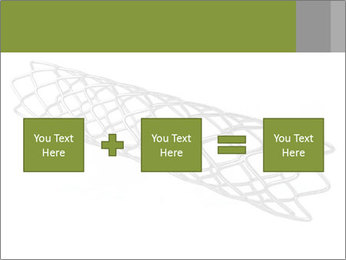 Close-up image of stent PowerPoint Template - Slide 95