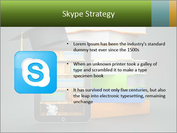 A tablet computer PowerPoint Template - Slide 8