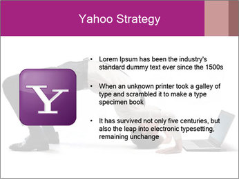 Young businessman PowerPoint Template - Slide 11