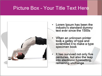 Young businessman PowerPoint Template - Slide 13