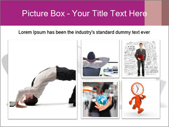 Young businessman PowerPoint Template - Slide 19