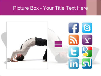 Young businessman PowerPoint Template - Slide 21