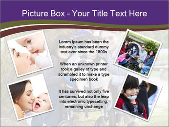 Happy disabled child PowerPoint Template - Slide 24