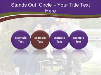 Happy disabled child PowerPoint Templates - Slide 76