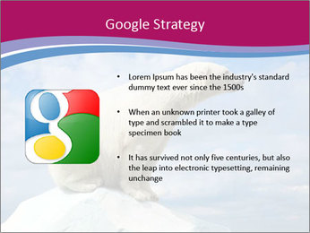 Polar bear PowerPoint Template - Slide 10