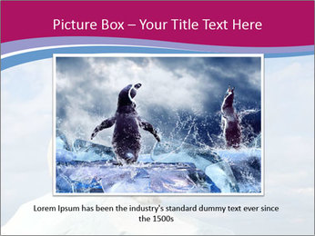 Polar bear PowerPoint Template - Slide 15