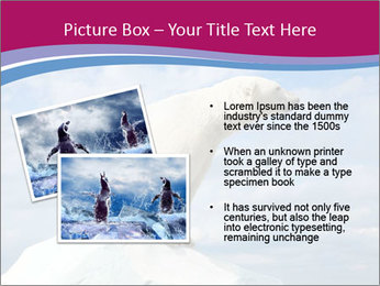 Polar bear PowerPoint Template - Slide 20