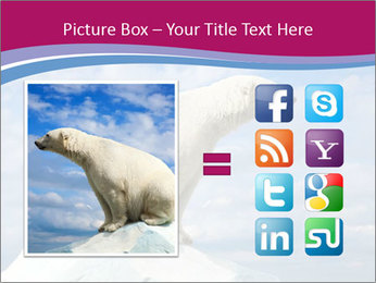 Polar bear PowerPoint Template - Slide 21