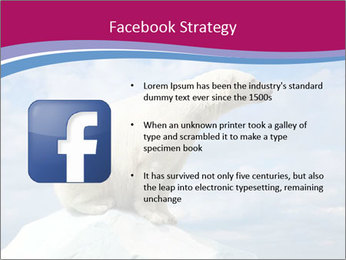Polar bear PowerPoint Template - Slide 6