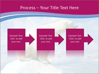 Polar bear PowerPoint Template - Slide 88