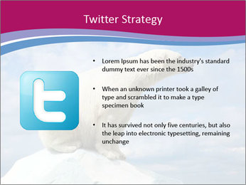 Polar bear PowerPoint Template - Slide 9