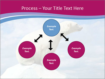 Polar bear PowerPoint Template - Slide 91