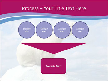Polar bear PowerPoint Template - Slide 93