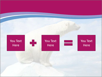 Polar bear PowerPoint Template - Slide 95