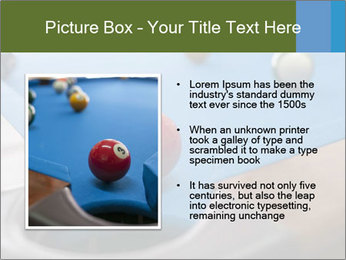 Different views of snooker PowerPoint Template - Slide 13