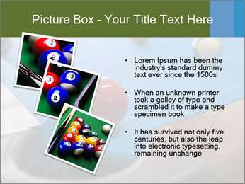 Different views of snooker PowerPoint Template - Slide 17