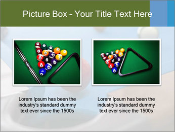 Different views of snooker PowerPoint Templates - Slide 18