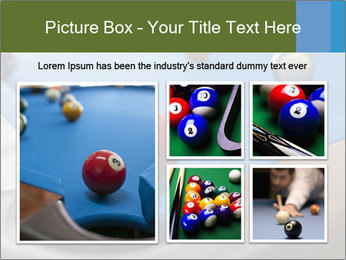 Different views of snooker PowerPoint Template - Slide 19