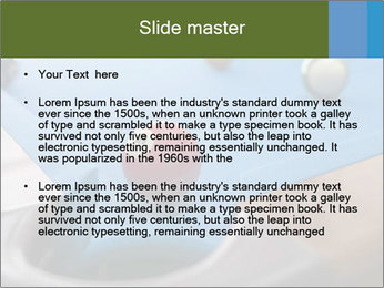 Different views of snooker PowerPoint Template - Slide 2