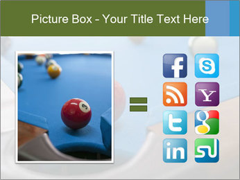 Different views of snooker PowerPoint Template - Slide 21
