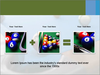 Different views of snooker PowerPoint Template - Slide 22