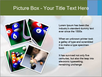 Different views of snooker PowerPoint Template - Slide 23