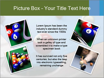 Different views of snooker PowerPoint Template - Slide 24