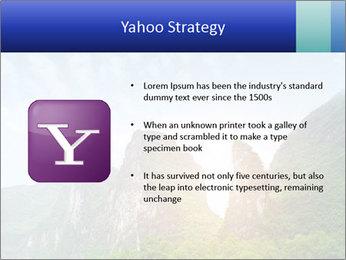 Beautiful Yu Long river PowerPoint Template - Slide 11