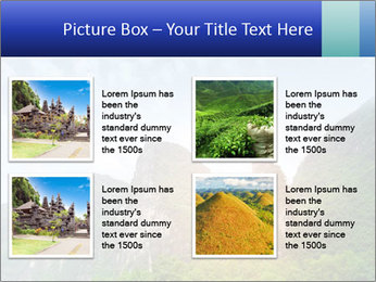 Beautiful Yu Long river PowerPoint Template - Slide 14
