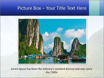Beautiful Yu Long river PowerPoint Template - Slide 15
