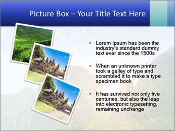 Beautiful Yu Long river PowerPoint Template - Slide 17