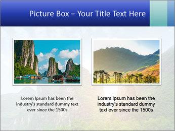 Beautiful Yu Long river PowerPoint Template - Slide 18