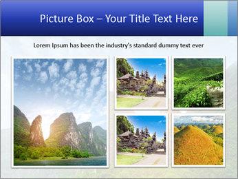 Beautiful Yu Long river PowerPoint Template - Slide 19