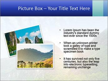 Beautiful Yu Long river PowerPoint Template - Slide 20