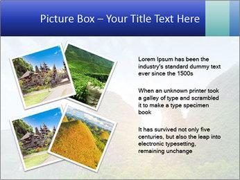Beautiful Yu Long river PowerPoint Template - Slide 23